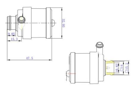 mini water pump P3001